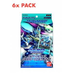Digimon Card Game Start Deck UlforceVeedramon ST-8 6 PACKS BOX [Trading Cards]