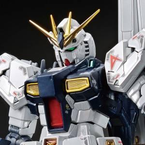 RG 1/144 ν Gundam Titanium Finish Plastic Model Limited Edition [Bandai]