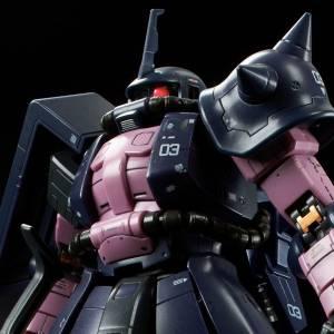 RG 1/144 Gundam MS-06R-1A Zaku II High Mobility Type Black Tri-Stars Limited Edition [Bandai]