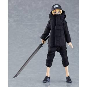 Figma Female Body (Yuki) with Techwear Outfit [Figma 524]