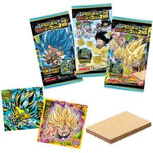 Dragon Ball Chousenshi Sticker Wafer Chou 20Pack BOX (CANDY TOY) [Bandai]