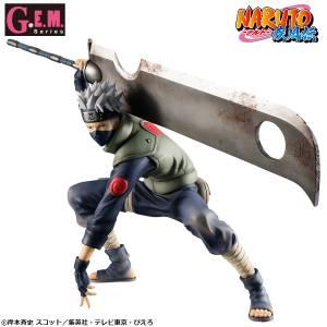 G.E.M. Series Naruto Shippuden - Hatake Kakashi Ninkai Taisen ver. Limited Edition [MegaHouse]
