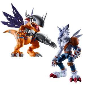 Shokugan: SHODO Digimon - MetalGreymon & WereGarurumon LIMITED EDITION 2nd Batch [Bandai]