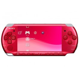 Buy Psp 3000 Radiant Red Brand New Psp Japanese Import