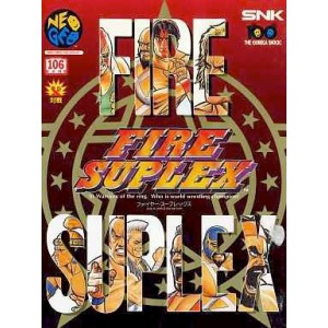 Fire Suplex / 3 Count Bout [NG AES - Used Good Condition]