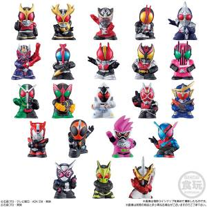 Kamen Rider Kids 24Pack BOX (CANDY TOY) [Bandai]