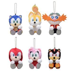 Sonic the Hedgehog & you Plush 6Pack BOX [Plush Toy]