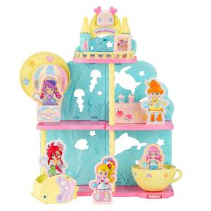 Tropical-Rouge! Pretty Cure PreCute House Series Amusement Park for Fish 10Pack BOX (CANDY TOY) [Bandai]