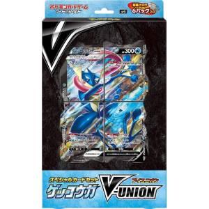 Pokemon Card Game Sword & Shield Special Set Greninja V-Union [Trading Cards]