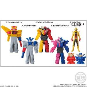 Soft Vinyl Robo Hero Kikai Sentai Zenkaiger 8Pack BOX (CANDY TOY) [Bandai]