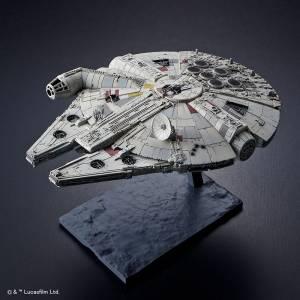Star Wars The Rise of Skywalker - Spacecrafts Vehicles Millennium Falcon Plastic Model [Bandai]
