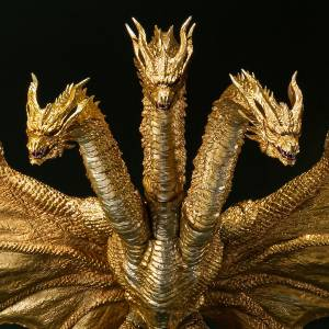SH MonsterArts Godzilla: King of the Monsters - King Ghidorah - Special Color Ver. LIMITED EDITION [Bandai]