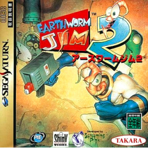 Earthworm Jim 2 [SAT - Used Good Condition]