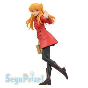 Shin Seiki Evangelion - Souryuu Asuka Langley Coat - PM Figure [Sega]