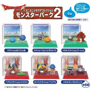 Dragon Quest MiniMini Diorama Collection Monster Pack no.2 - 8 Pack BOX [Goods]
