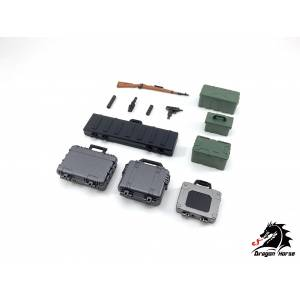 1/12 Scale Weapons and cases Set A [Dragon Horse]