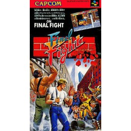 Final Fight [SFC - Used Good Condition]
