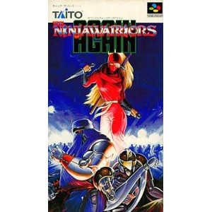 The Ninja Warriors Again [SFC - Used Good Condition]