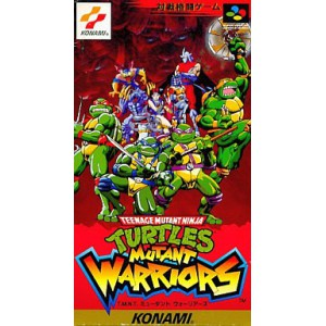 Teenage Mutant Ninja Turtles - Mutant Warriors / Tournament Fighters [SFC - Used Good Condition]