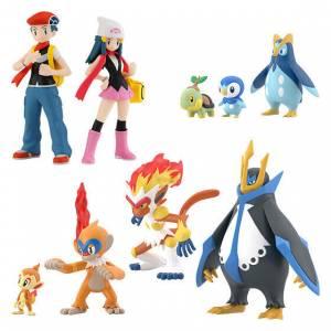 Pokemon Scale World: Sinnoh Regional Set - (CANDY TOY) [Bandai]