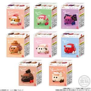PuiPui Moruka Korokoro Friends 2 12Pack BOX (CANDY TOY) [Bandai]