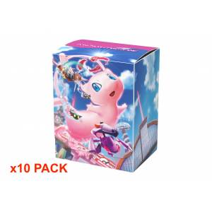 Pokemon Card Game - Deck Case Fusion Art Mew 10 pack box [Trading Cards]