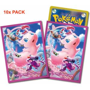 Pokemon Card Game - Deck Sleeves Fusion Arts Mew 10 pack box [Trading Cards]