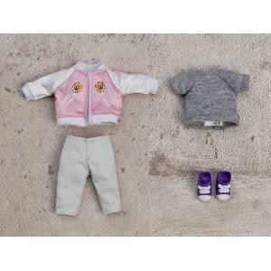 Nendoroid Doll: Oyoufuku set - Souvenir Jacket (Pink). [Nendoroid]