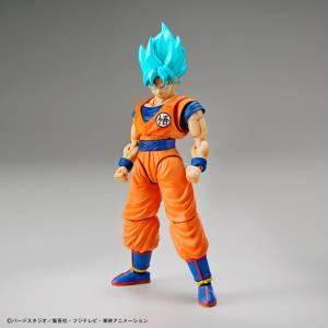 Dragon Ball Z - Super Saiyan God Super Saiyan Blue  Son Goku Plastic Model Reissue [Bandai]