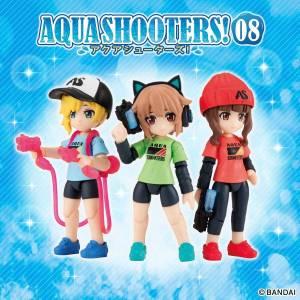 AQUA SHOOTERS! Aqua Shooters 08 - 10 Piece Set LIMITED EDITION [Bandai]