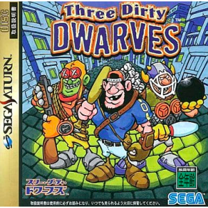 Three Dirty Dwarves [SAT - Used Good Condition]