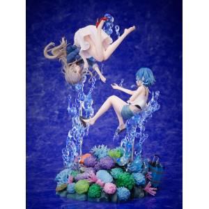 F:NEX Shiroi Suna no Aquatope - Misakino Kukuru & Fuka Miyazawa - 1/7 LIMITED EDITION [FuRyu]