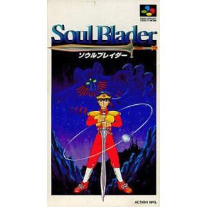 Soul Blader / Soul Blazer [SFC - Used Good Condition]