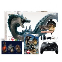 .   console Wii Black - Monster Hunter 3 Special Pack [neuve]