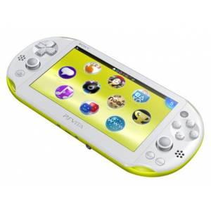 PSVita Slim - Lime Green & White - Wi-fi (PCH-2000 ZA13) [new]