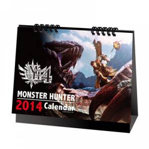 Monster Hunter 4 - Desk Calender 2014 [Goodies]