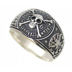One Piece - Straw Hat Silver Ring - Bandai-Namco Lalabit Market Limited Edition [Goods]