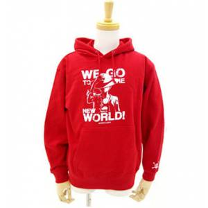 One Piece - Hoodie Red- Édition Limitée Bandai-Namco Lalabit Market [Goodies]