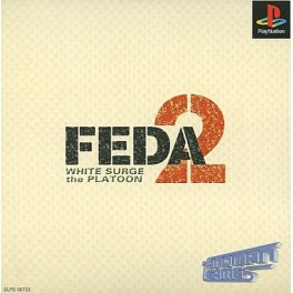 FEDA 2 - White Surge the Platoon [PS1 - Used Good Condition]