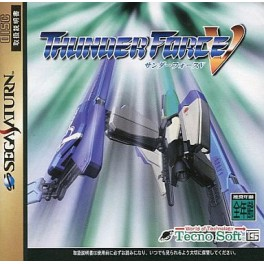 Thunder Force V [SAT - Used Good Condition]