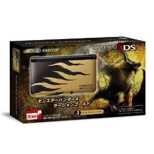 Nintendo 3DS LL (XL) - Monster Hunter 4 - Rajang Gold [Brand New]