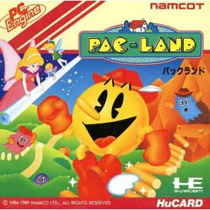 Pac Land [PCE - used good condition]