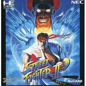 Street Fighter 2' (dash) [PCE - used good condition]