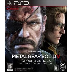 Metal Gear Solid V Ground Zeroes [PS3 - Used Good Condition]