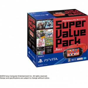 PSVita Slim Super Value Pack - Red & Black [new]