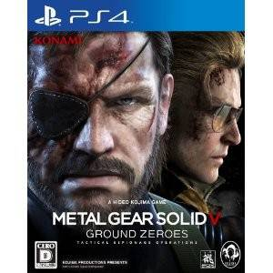 Metal Gear Solid V Ground Zeroes - édition standard [PS4 - occasion]