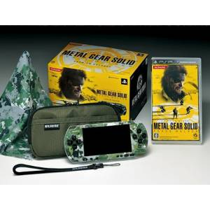 PSP-3000 Metal Gear Solid Peace Walker Premium Package [brand new]