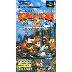 Super Donkey Kong 2 - Dixie & Diddy / Donkey Kong Country 2 - Diddy's Kong Quest [SFC - Used Good Condition]