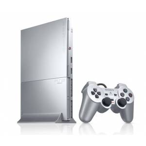 PlayStation 2 Slim - Satin Silver (SCPH-90000SS) (Used)
