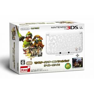 Nintendo 3DS LL (XL) - Monster Hunter 4 - Airu White [Occasion]